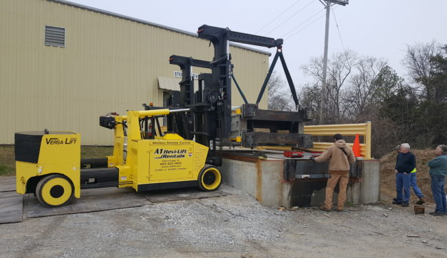 Industrial Rigging Machinery Moving